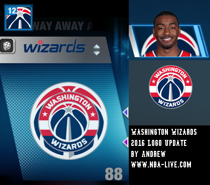 Washington Wizards 2015/2016 Logo Patch 06