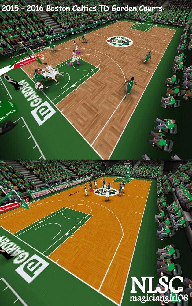 NLSC Forum • Downloads - 2015/2016 Boston Celtics TD Garden Courts