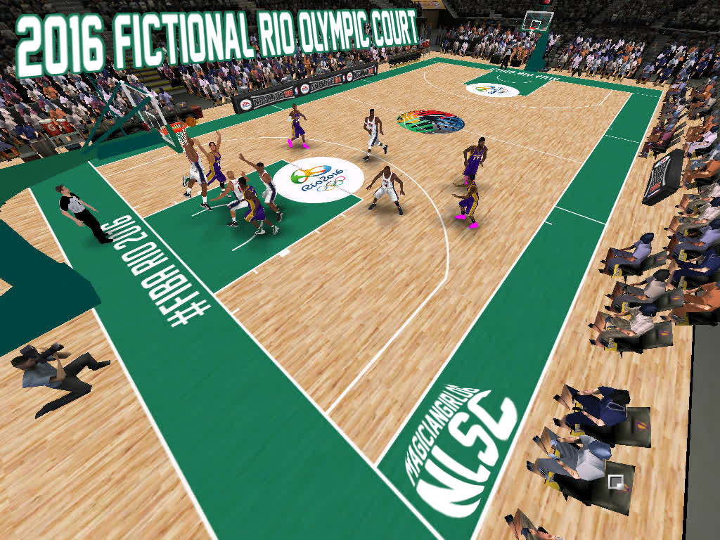 2016 Fictional Rio Olympics Court