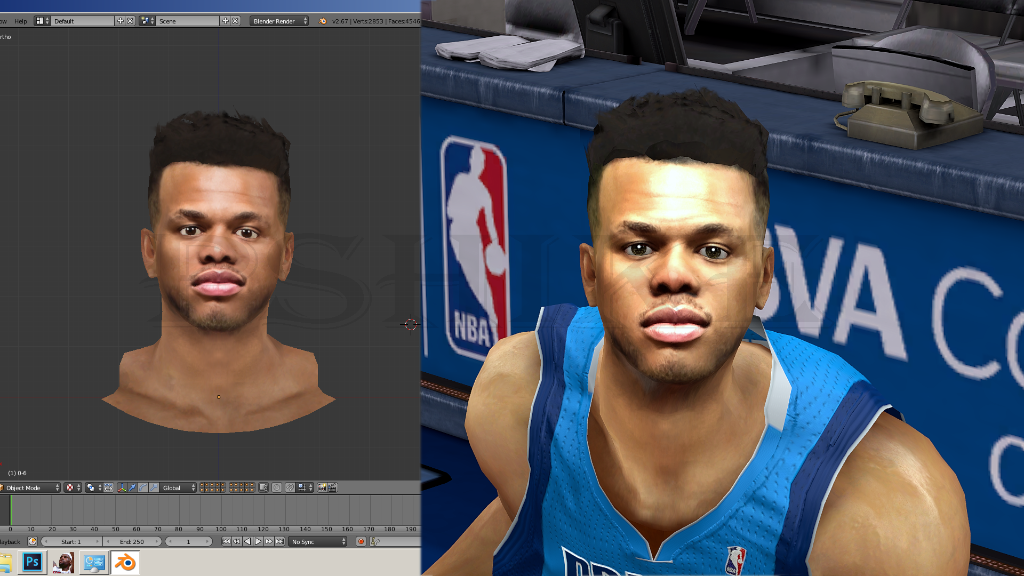 Justin Anderson Face