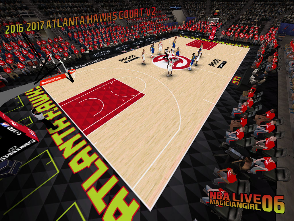 2016/2017 Atlanta Hawks Court