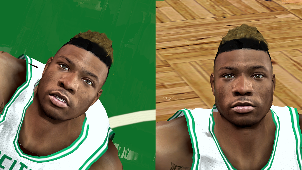 Marcus Smart HD and SD Face
