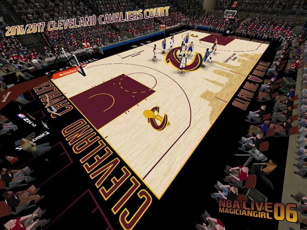 2016/2017 Cleveland Cavaliers Court
