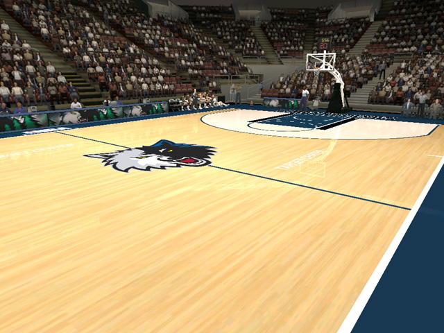 Minnesota Basketball Court Minnesota Timberwolves Court