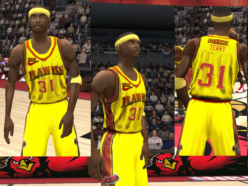 Atlanta Hawks Alternate Jersey Patch