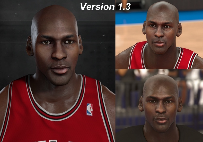 Michael Jordan Headshape & Face