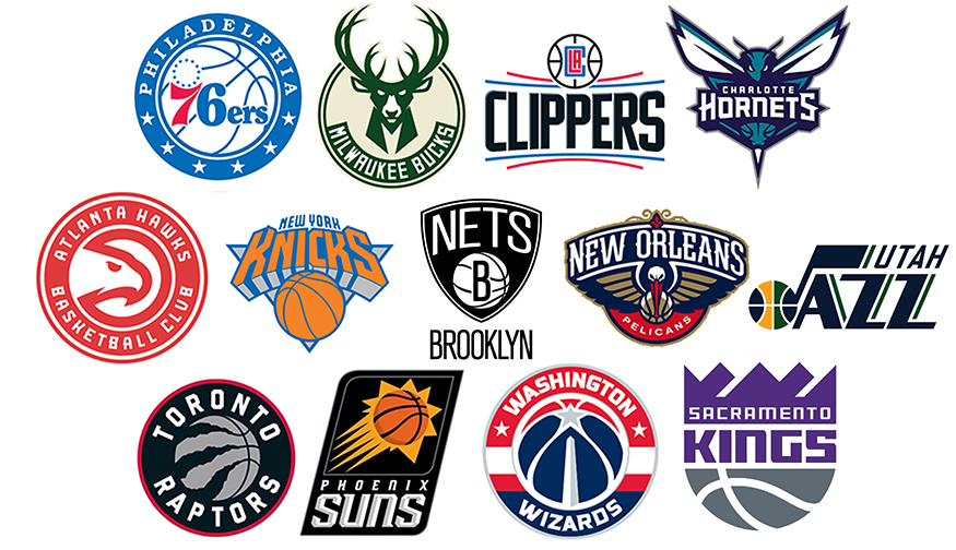 nba teams logos - 12.000 vector logos
