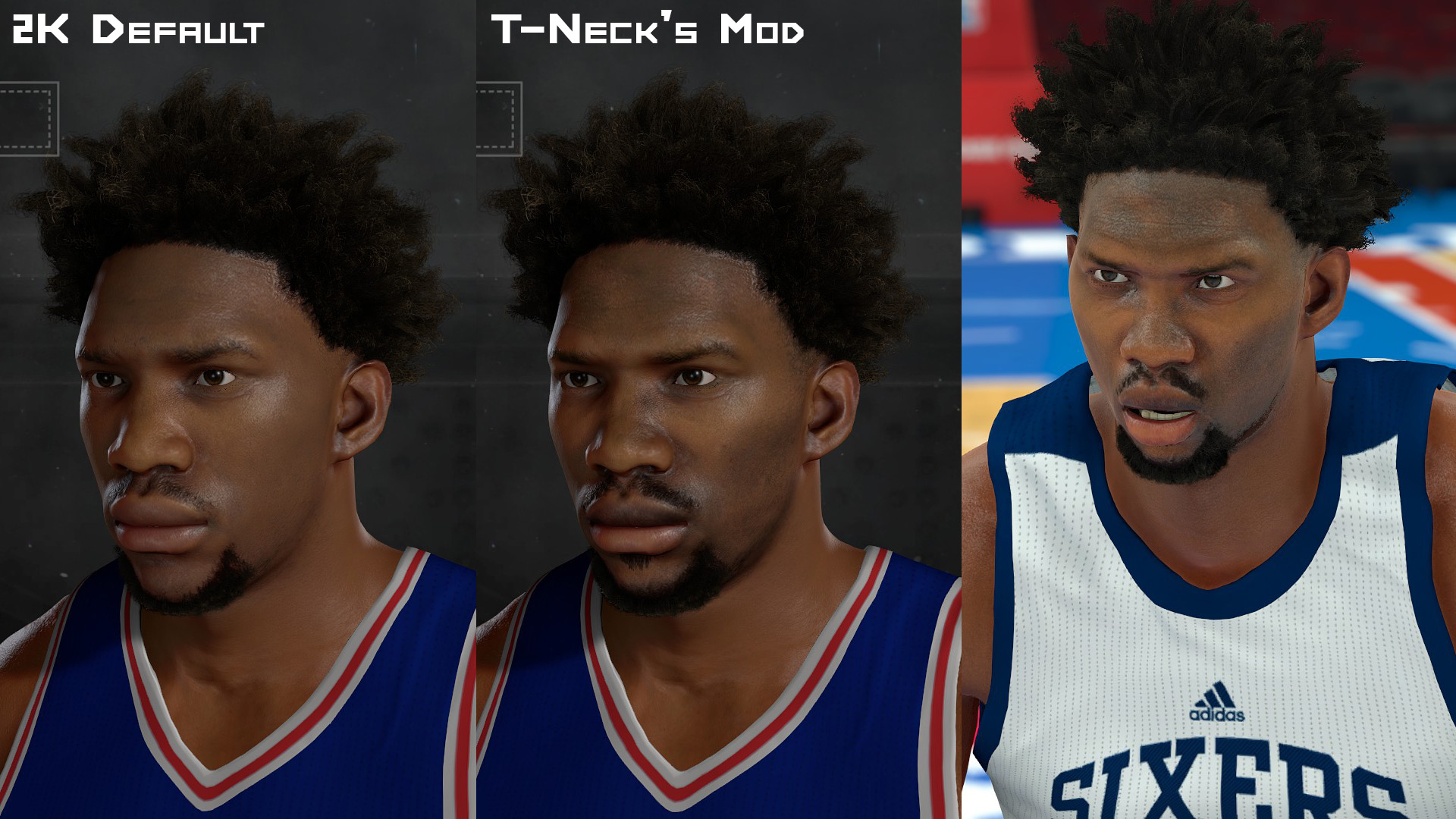 NLSC Forum • Downloads - Joel Embiid Face