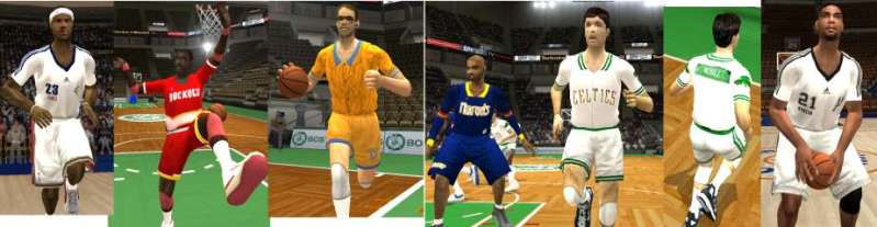 NBA Live 2004 Warmup Jerseys Pack