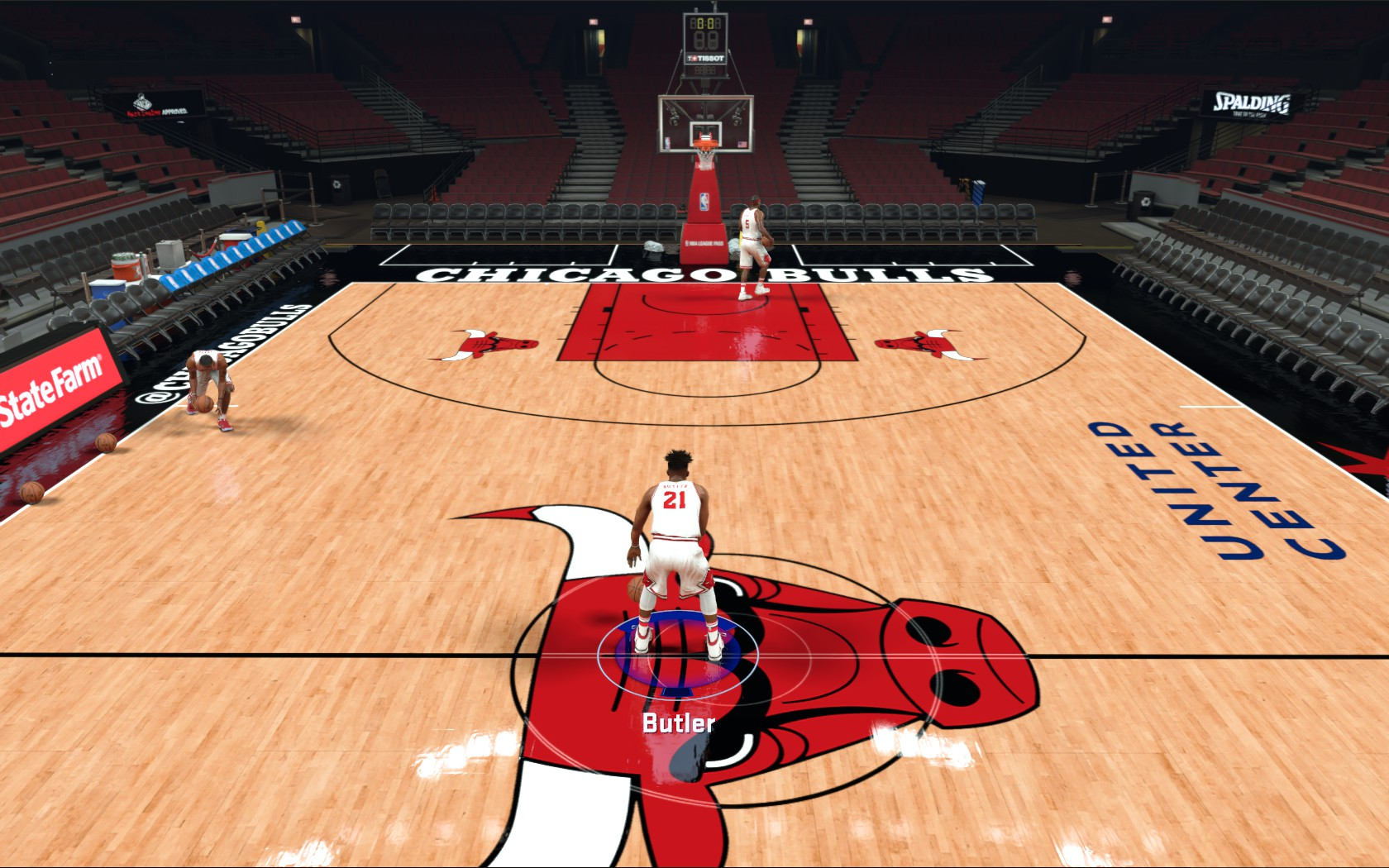 Chicago Bulls Court