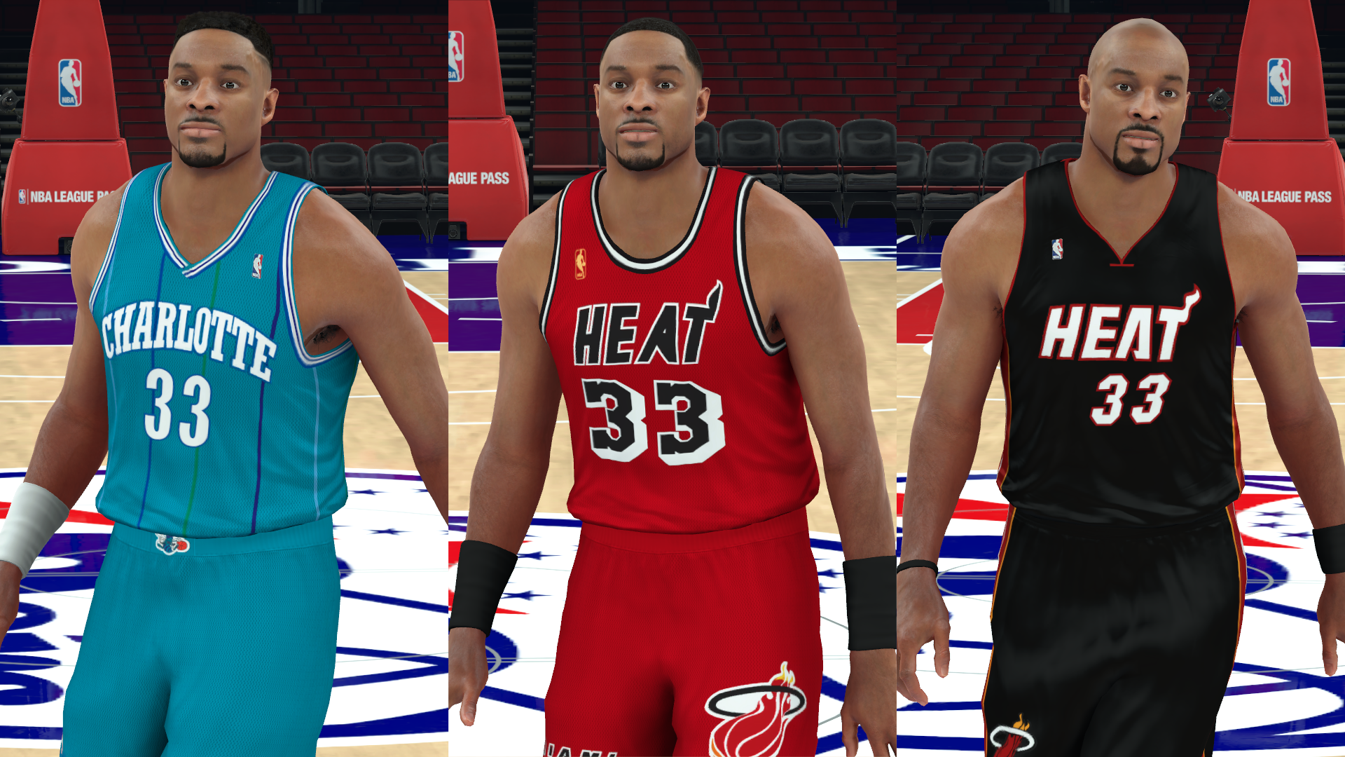 NLSC Forum • Downloads Alonzo Mourning Face Pack