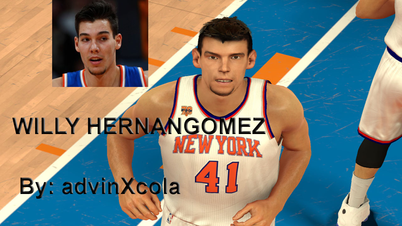 Willy Hernangomez Face