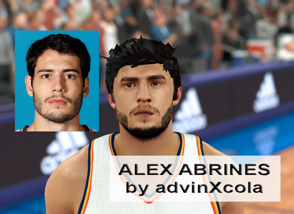 Alex Abrines Face