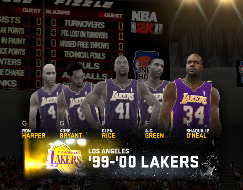 1999-2000 Los Angeles Lakers