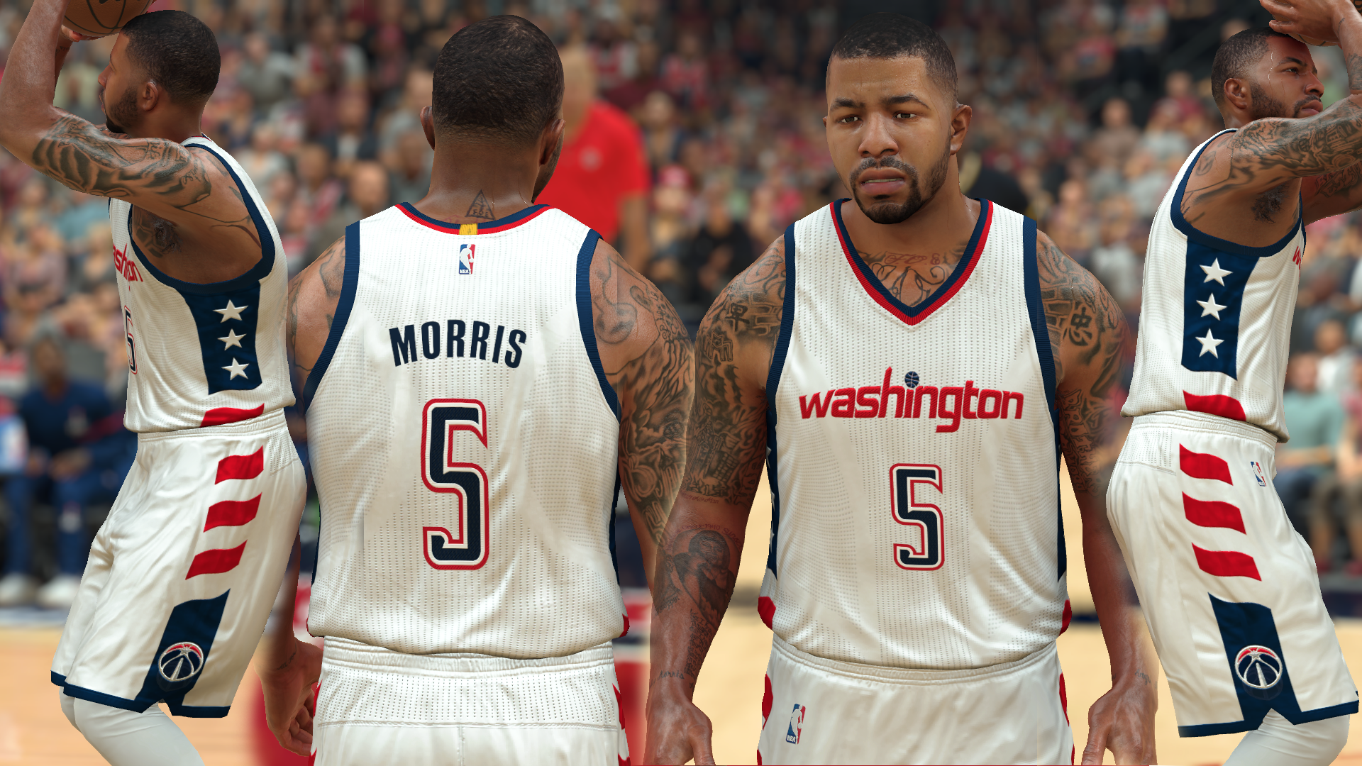 Washington Wizards Seconday Home Jersey