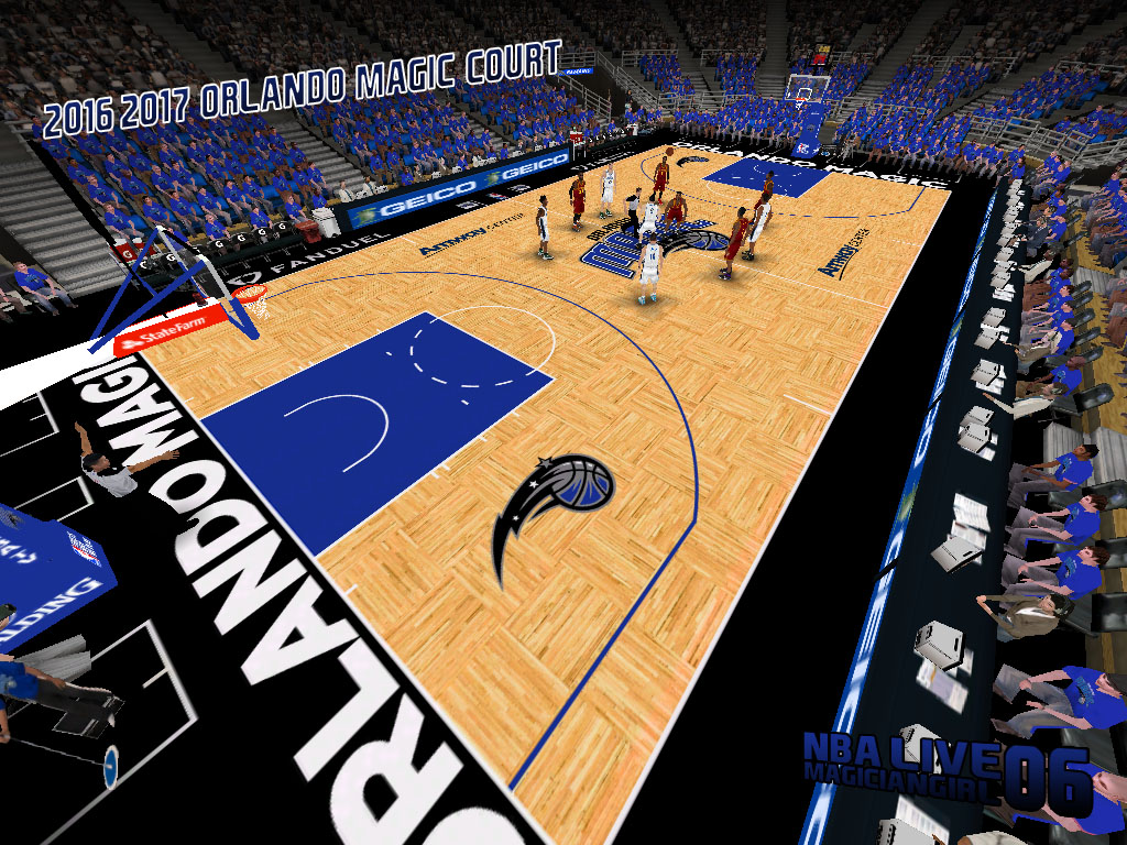 2016/2017 Orlando Magic Court