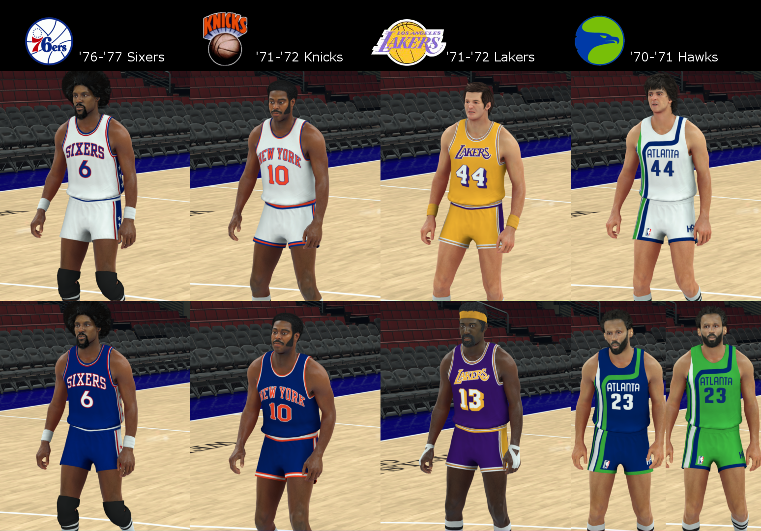 1960s-70s Classic Team Jersey Pack