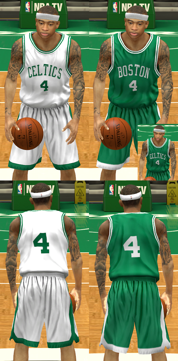 1960s Boston Celtics Uniforms