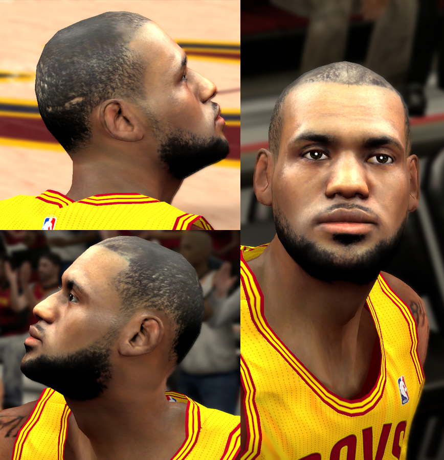 LeBron James Face