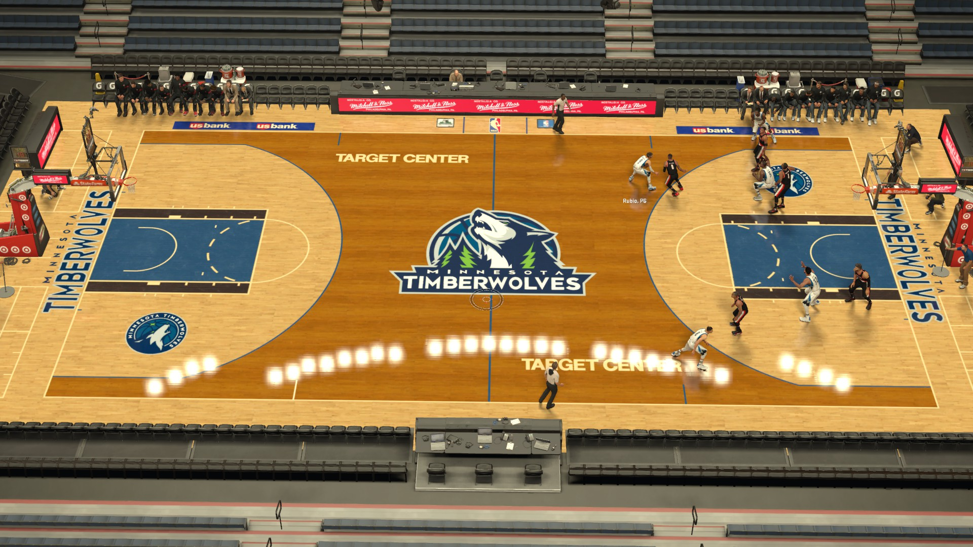 Minnesota Timberwolves Fictional Court