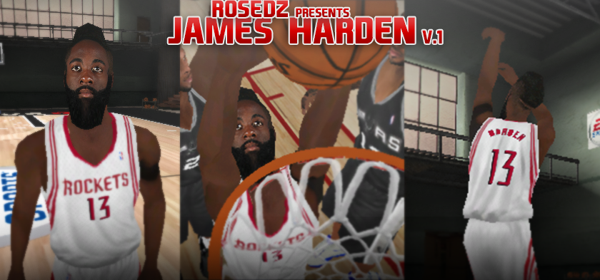 James Harden Face & Portrait