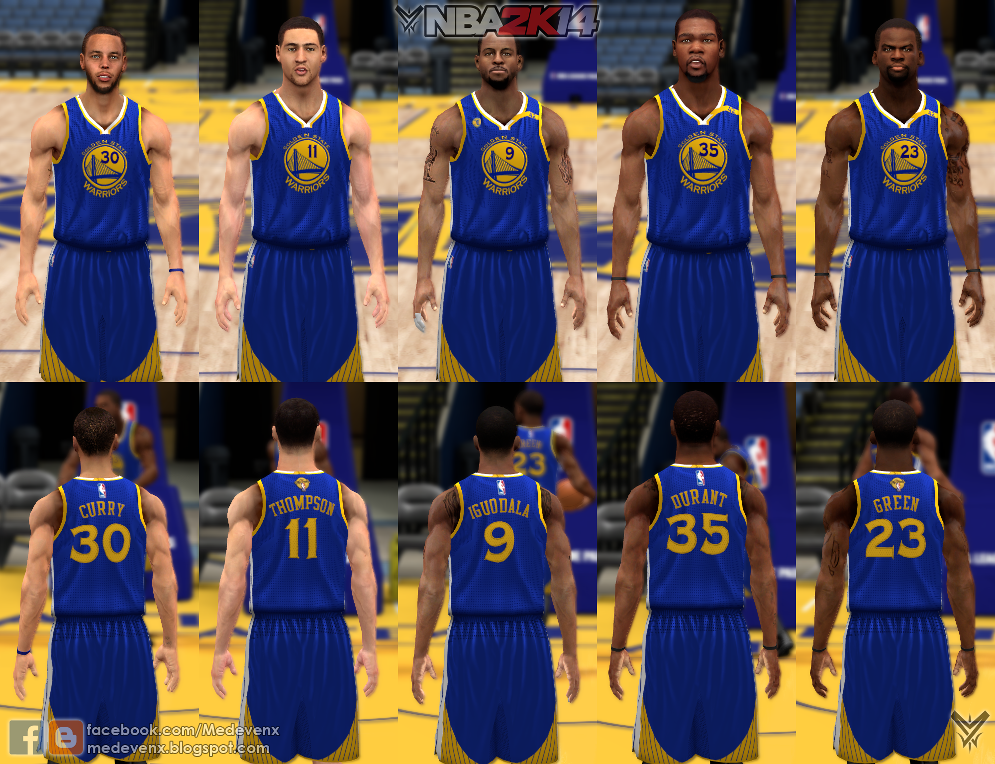 6ebb6f1d444 NLSC Forum • Downloads - 2017 Golden State Warriors Jersey Pack