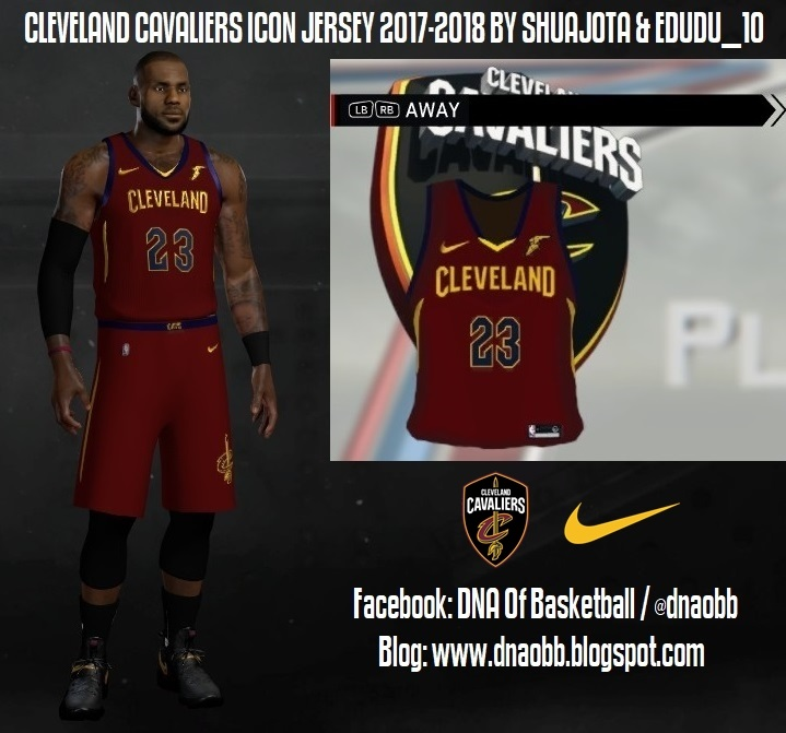 7c87f812cf9 NLSC Forum • Downloads - Cleveland Cavaliers 2017-2018 Nike Icon Jersey