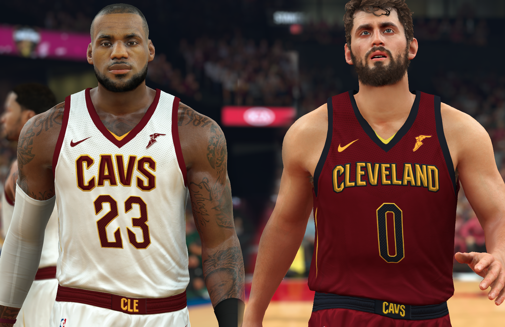 Cleveland Cavaliers Jersey 2017-18 (pinoy21)