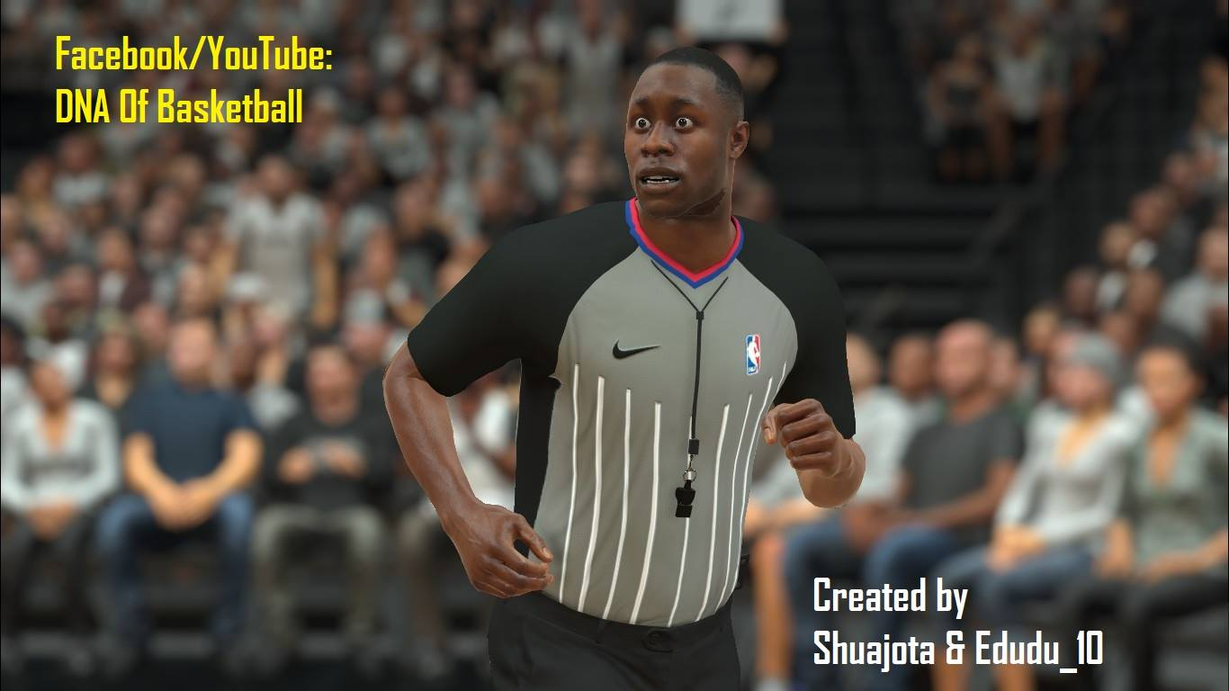 NBA Referee Jersey 2017-2018