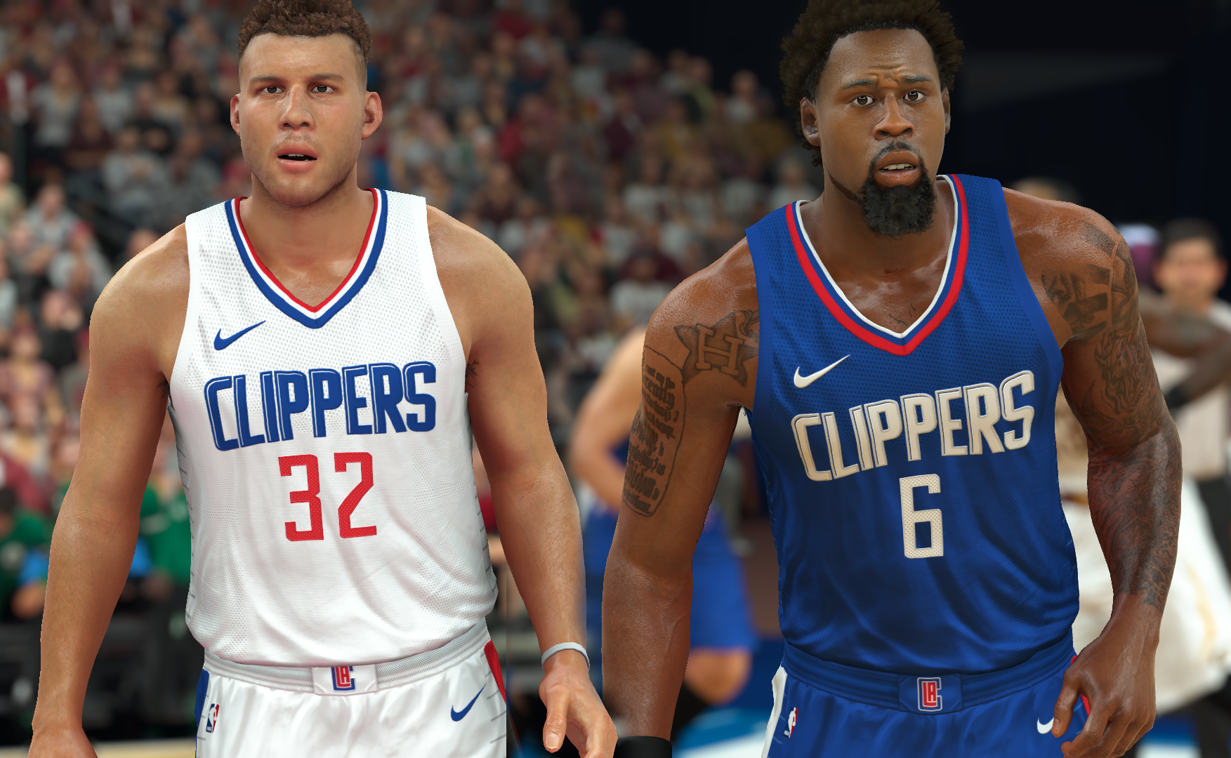 Los Angeles Clippers Jersey 2017-18 (pinoy21)