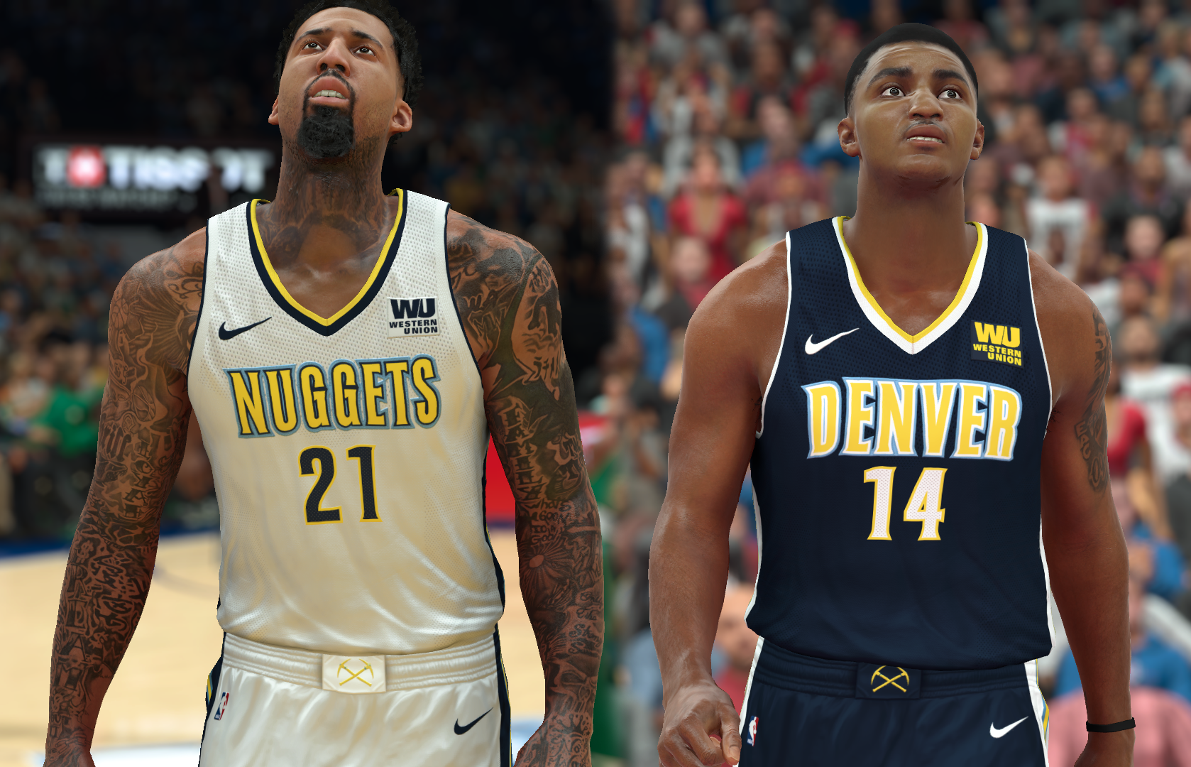 Denver Nuggets Jersey 2017-18 (pinoy21)