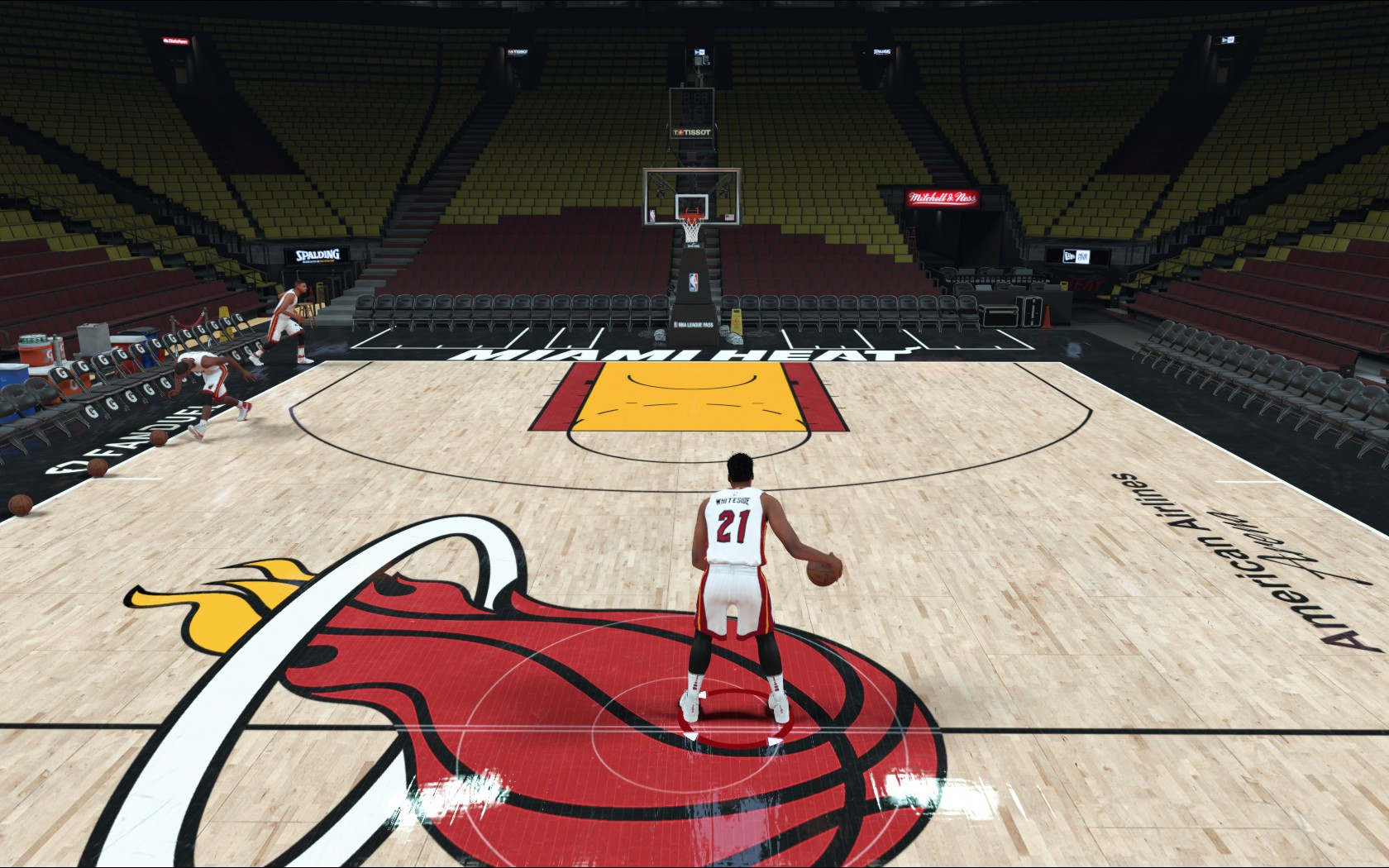 Miami Heat Court