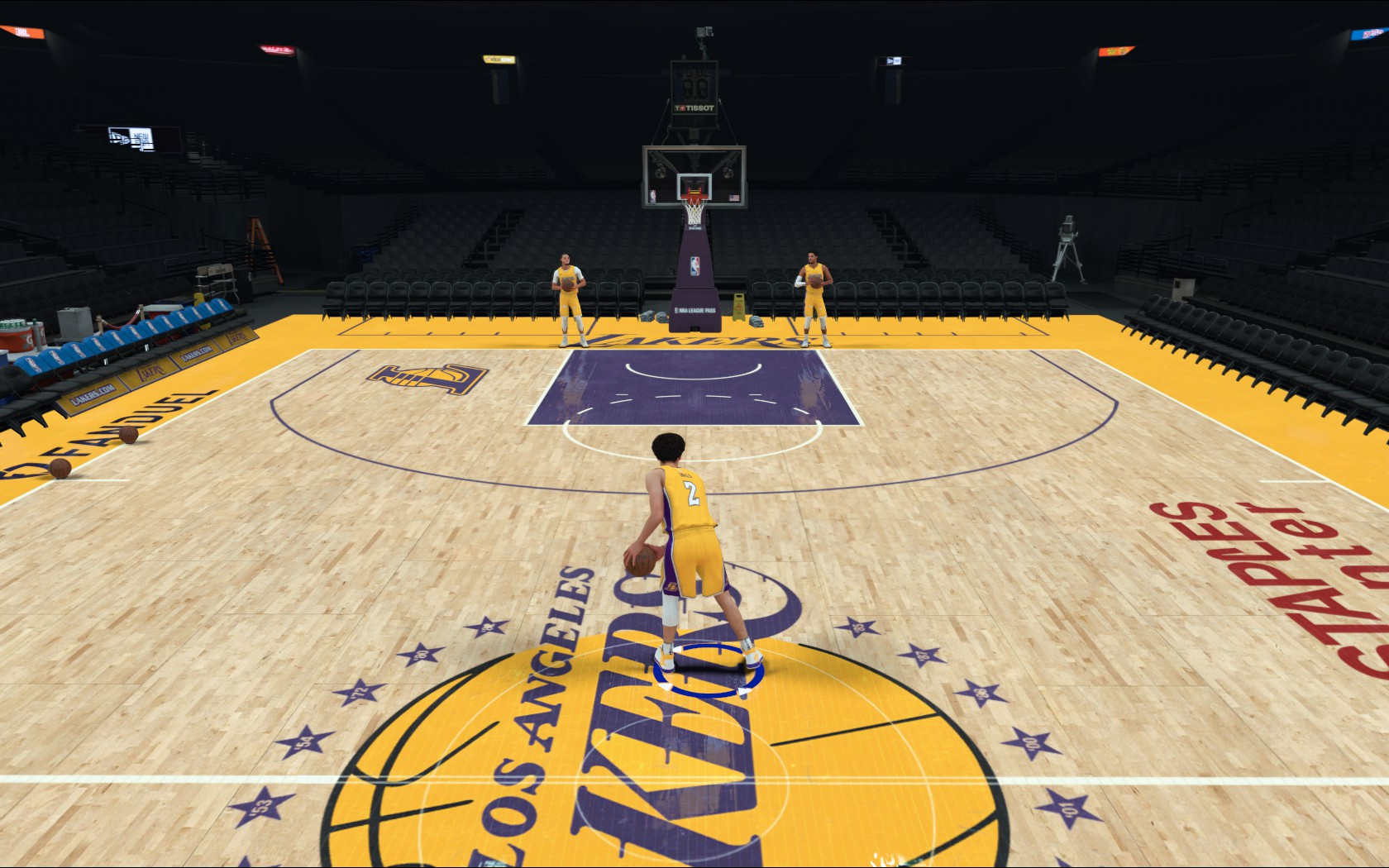 Los Angeles Lakers Court