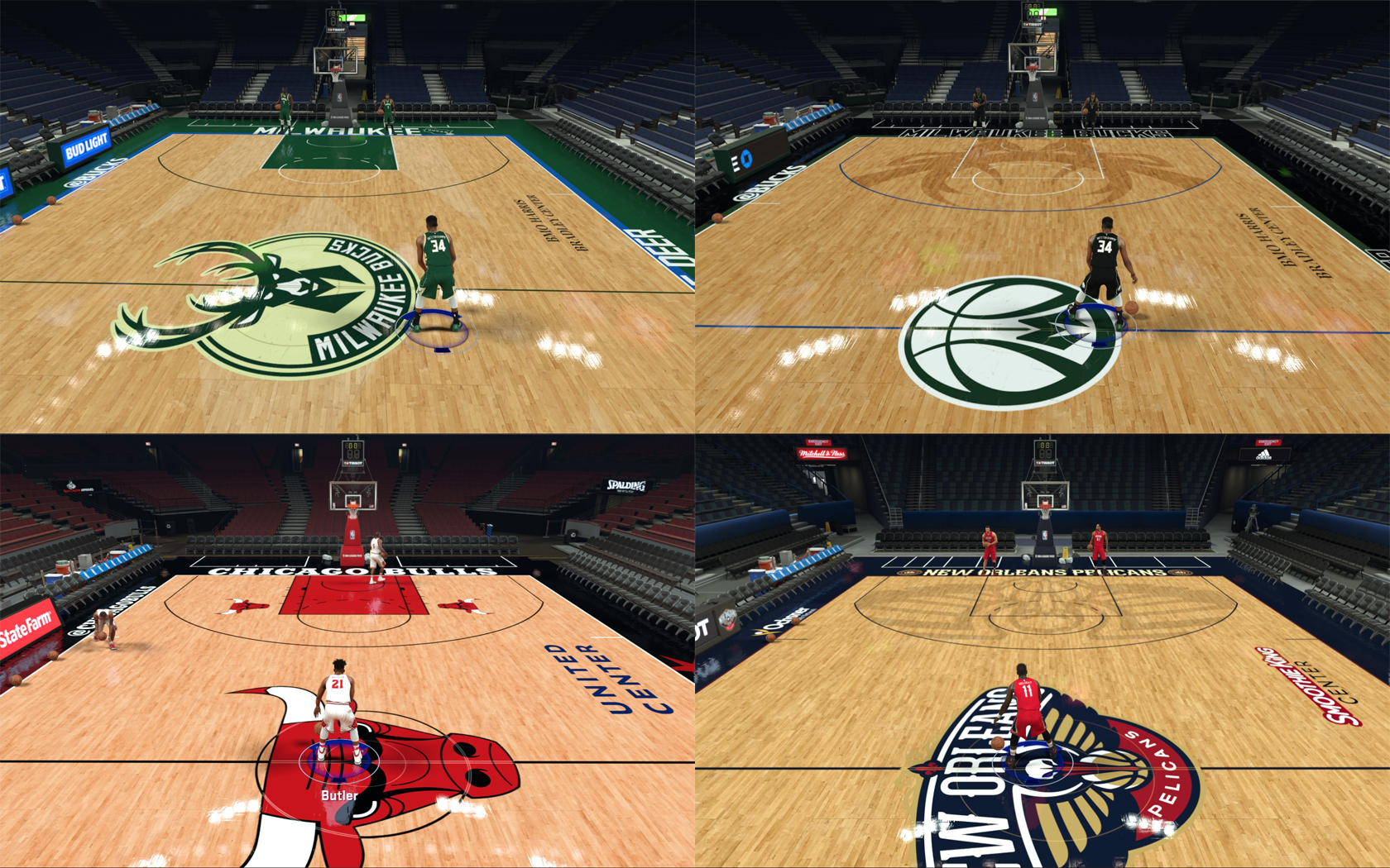 8125c62dc92 NLSC Forum • Downloads - 4 Courts Pack (NBA 2K17 Re-Upload)