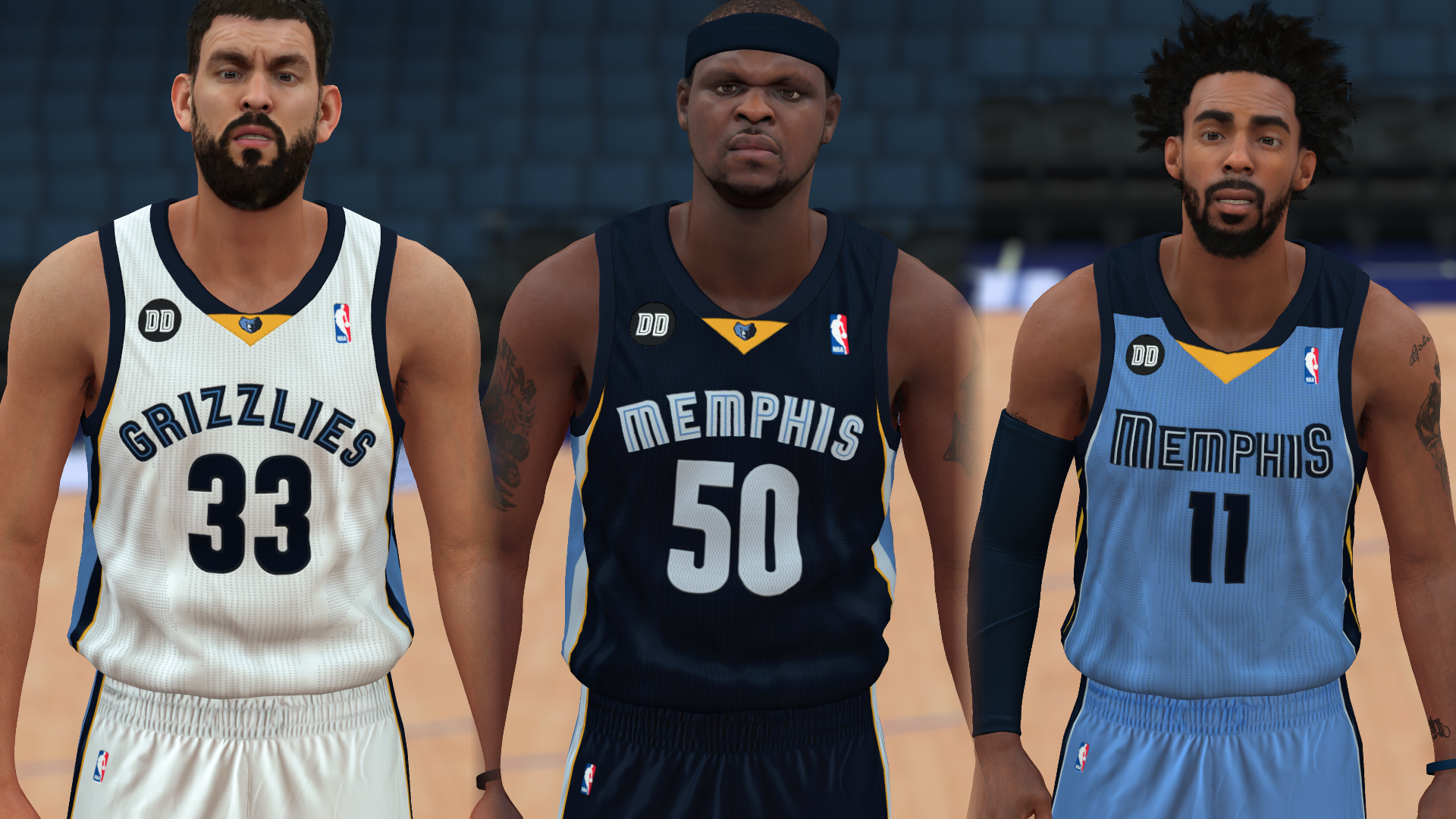 2012-2013 Grizzlies Jerseys - PeacemanNOT
