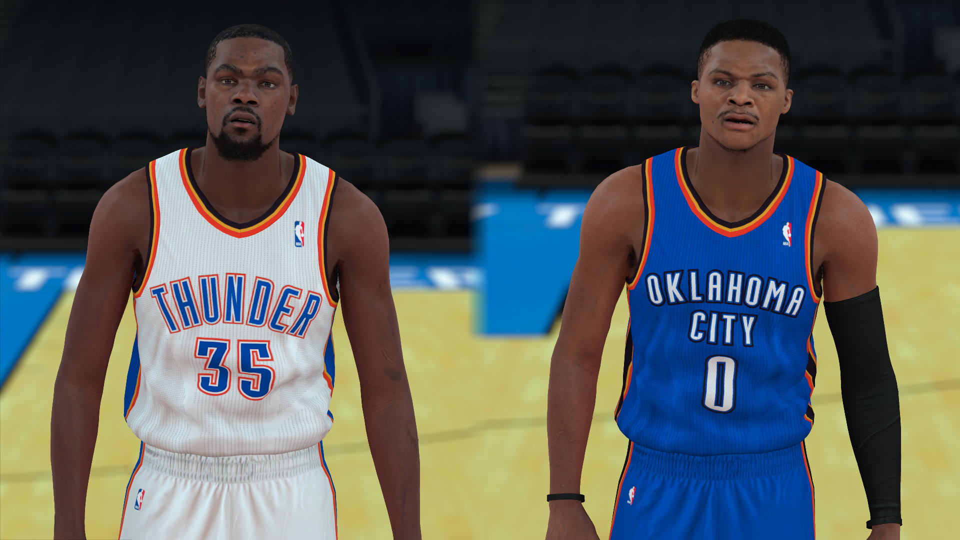 2011-2012 Thunder Jerseys - PeacemanNOT