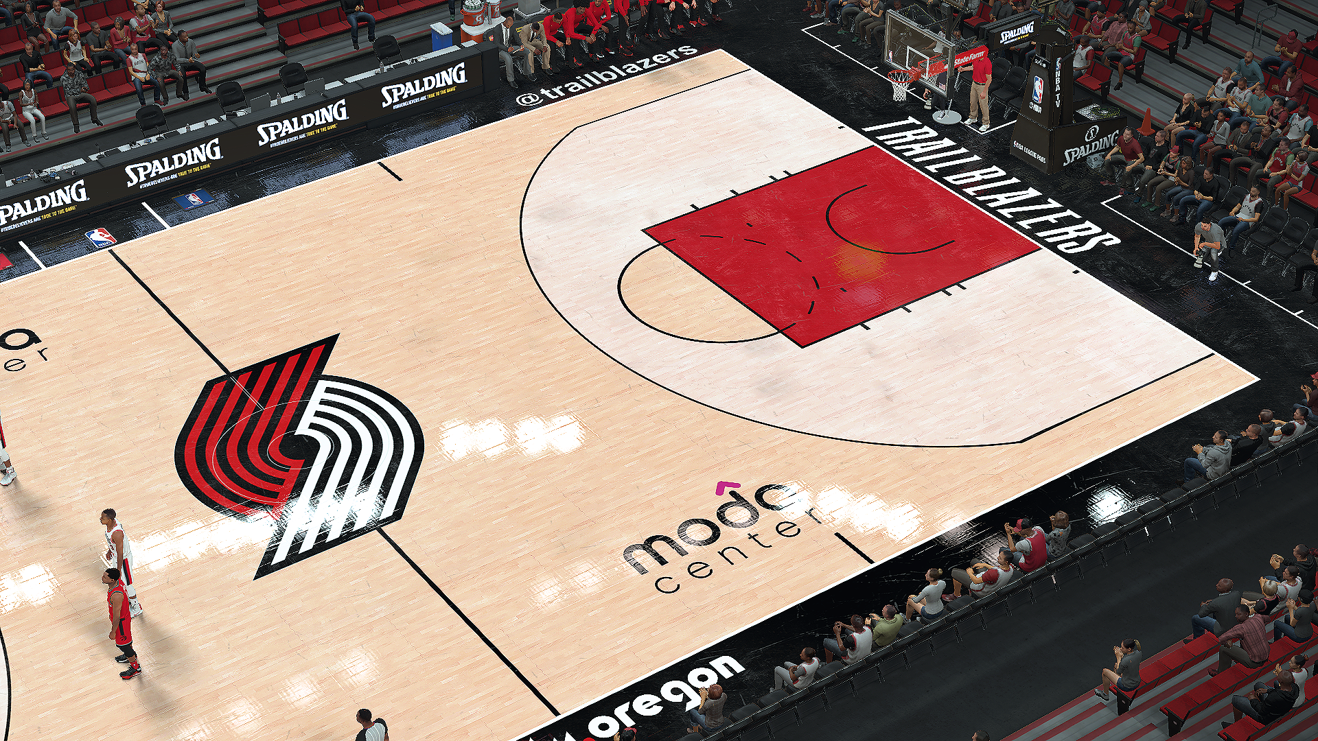 Portland Trail Blazers Moda Center