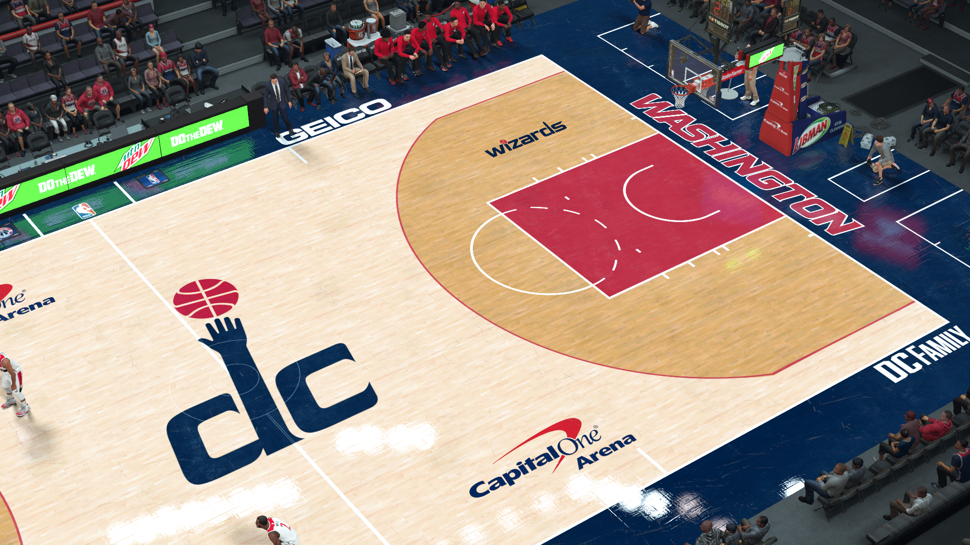 Washington Wizards Capital One Arena