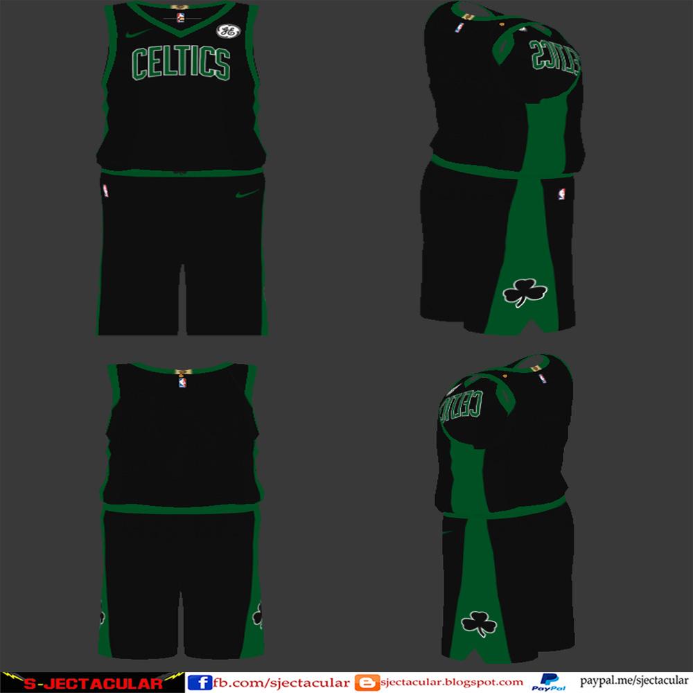 boston celtics jersey black for cheap