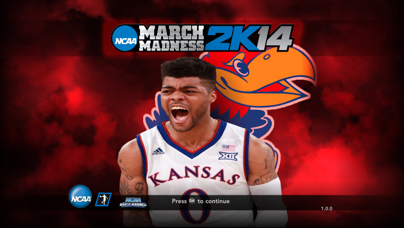 Frank Mason III Kansas Title Screen