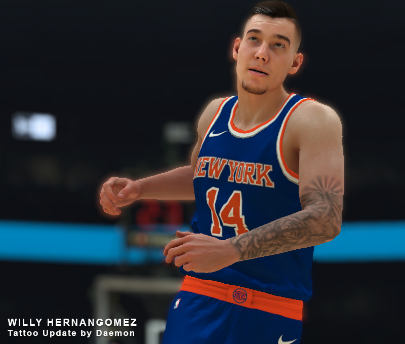Willy Hernangomez Tattoo