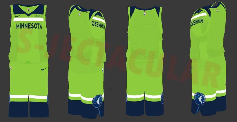 Ebay Minnesota Timberwolves Green Jersey D59d7 57c80
