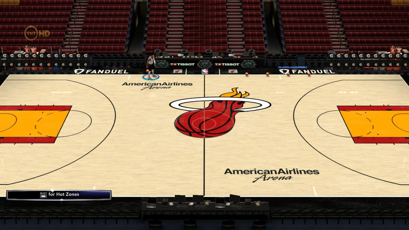 2017-2018 Miami Heat Official Court